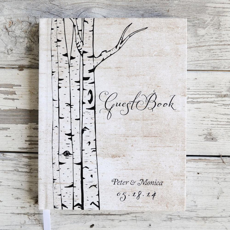 Portrait Wedding Guest Book #010 by Starboard Press - Starboard Press