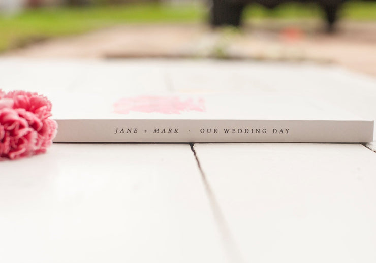 Portrait Wedding Guest Book #021 by Starboard Press - Starboard Press