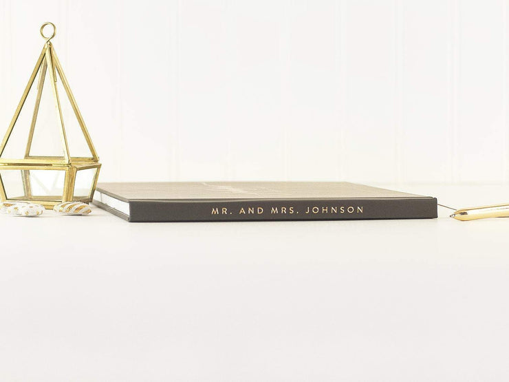 Real Foil Wedding Guest Book #011 by Starboard Press