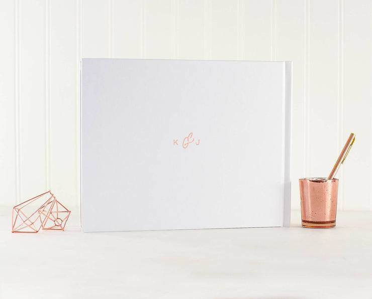 Real Foil Wedding Guest Book #053 by Starboard Press