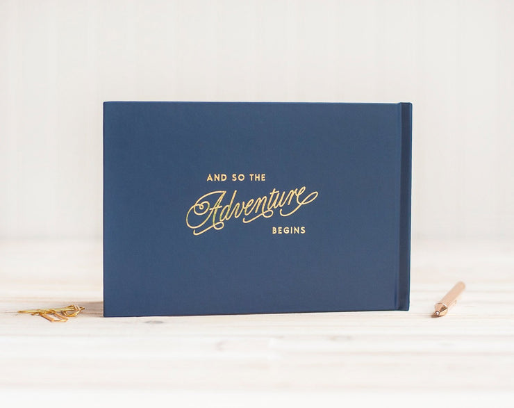 Real Foil Wedding Guest Book #063 by Starboard Press