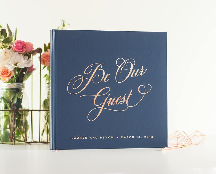 Real Foil Wedding Guest Book #099 by Starboard Press