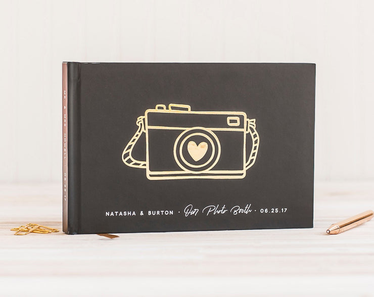 Real Foil Wedding Guest Book #100 by Starboard Press