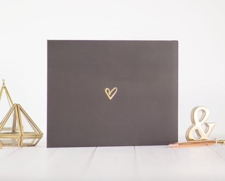 Real Foil Wedding Guest Book #101 by Starboard Press