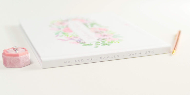 Real Foil Wedding Guest Book #157 by Starboard Press
