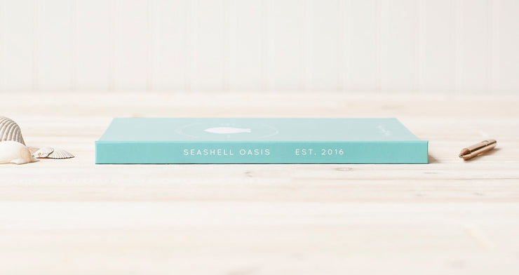 Vacation Home Guest Book #008 by Starboard Press