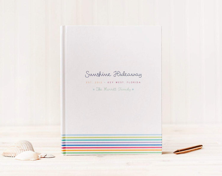 Vacation Home Guest Book #012 by Starboard Press