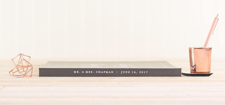 Wedding Guest Book #005 by Starboard Press