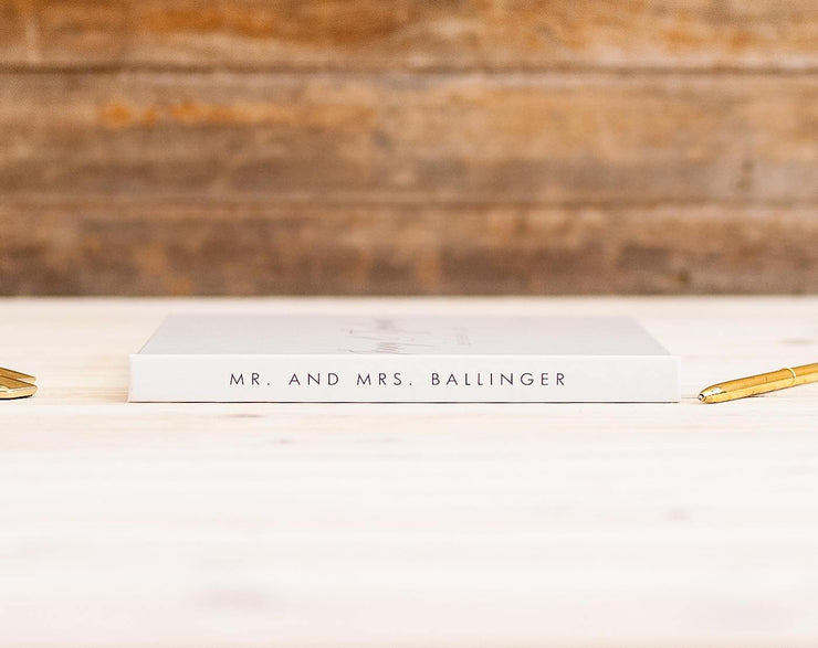 Wedding Guest Book #007 by Starboard Press - Starboard Press