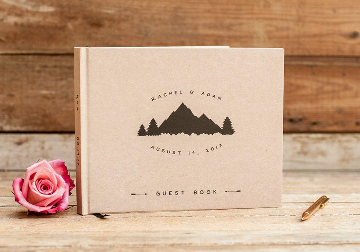 Wedding Guest Book #013 by Starboard Press