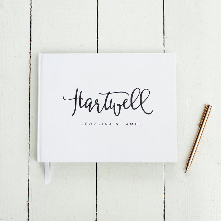 Wedding Guest Book #015 by Starboard Press