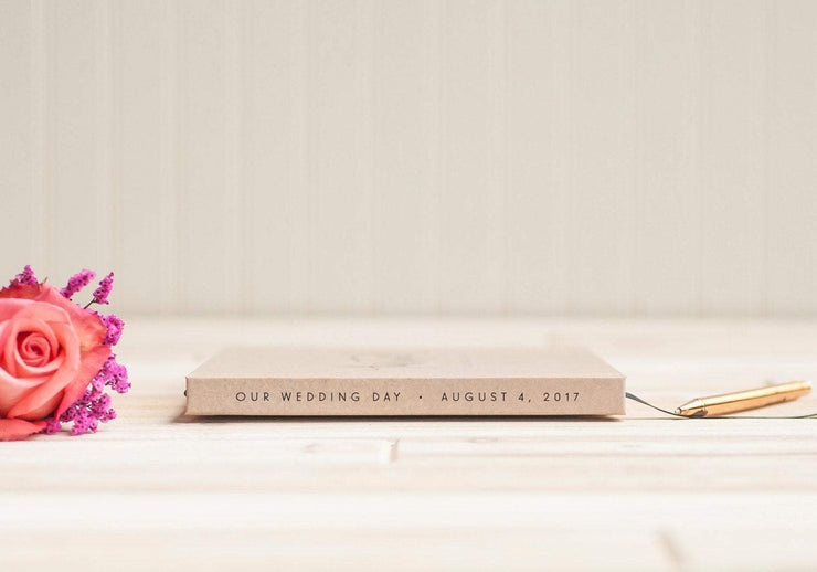 Wedding Guest Book #016 by Starboard Press