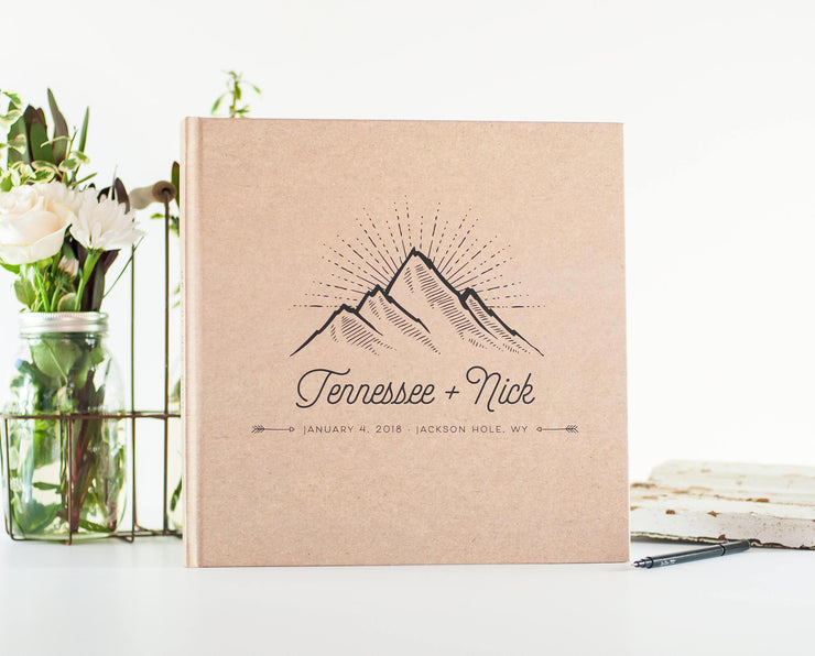 Wedding Guest Book #017 by Starboard Press