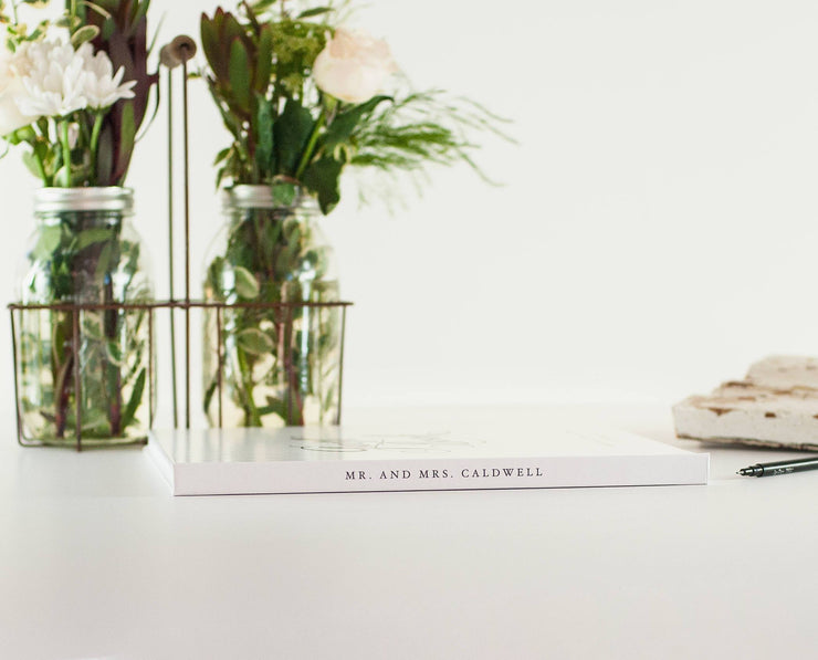 Wedding Guest Book #021 by Starboard Press