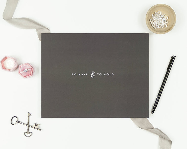 Wedding Guest Book #025 by Starboard Press