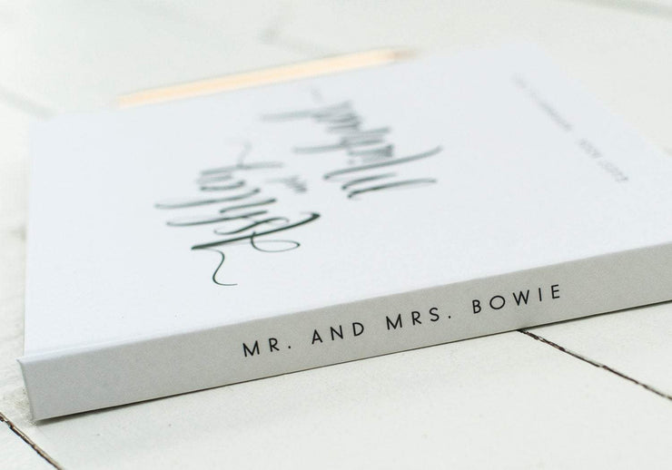 Wedding Guest Book #026 by Starboard Press