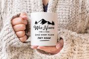 Wild Hearts Mug for Camping and Travel Enthusiast #006 by Starboard Press - Starboard Press