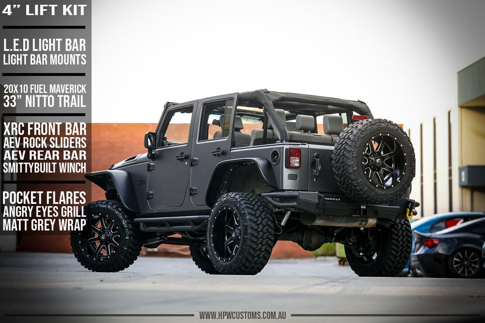 jeep lift kit fuel offroad wheels nitto tyres