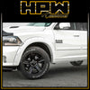 EGR Colour coded RAM 1500 Flares suits EXPRESS & LARAMIE