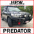 Offroad animal PREDATOR bullbar for LANDCRUISER 200 Series