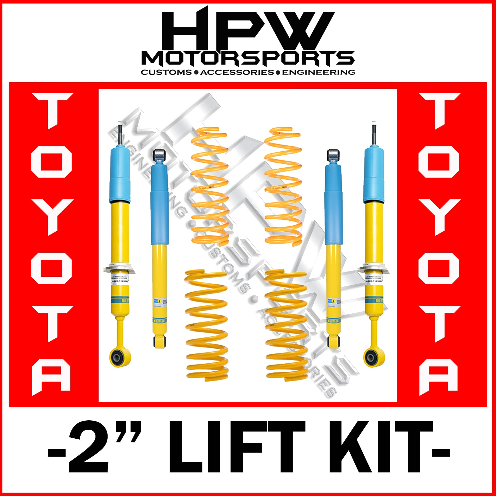 "2"" BILSTEIN LIFT KIT for Toyota FJ Cruiser"