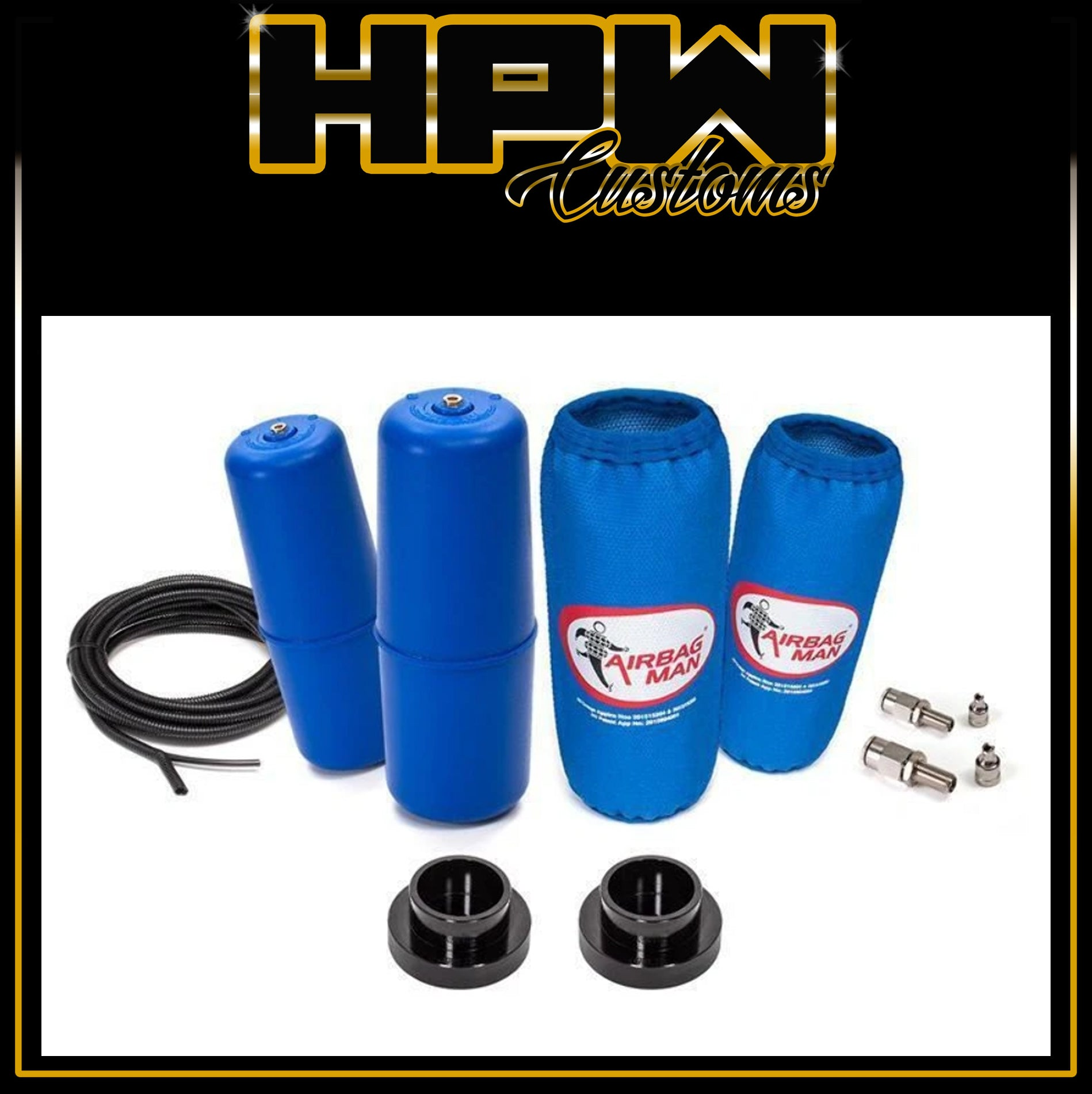 Air Suspension Helper Kit for Coil Springs High Pressure RAM 1500 4X4 COIL REAR