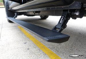 eBoard Retractable Power Steps to suit Ford Ranger PX Series