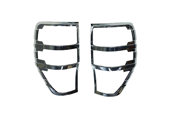 Chrome Tail Light Trims to suit Ford Ranger PX Series