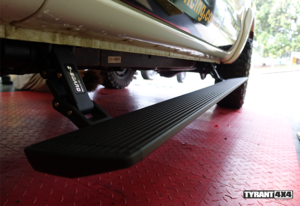 eBoard Retractable Power Steps to suit Isuzu MU-X