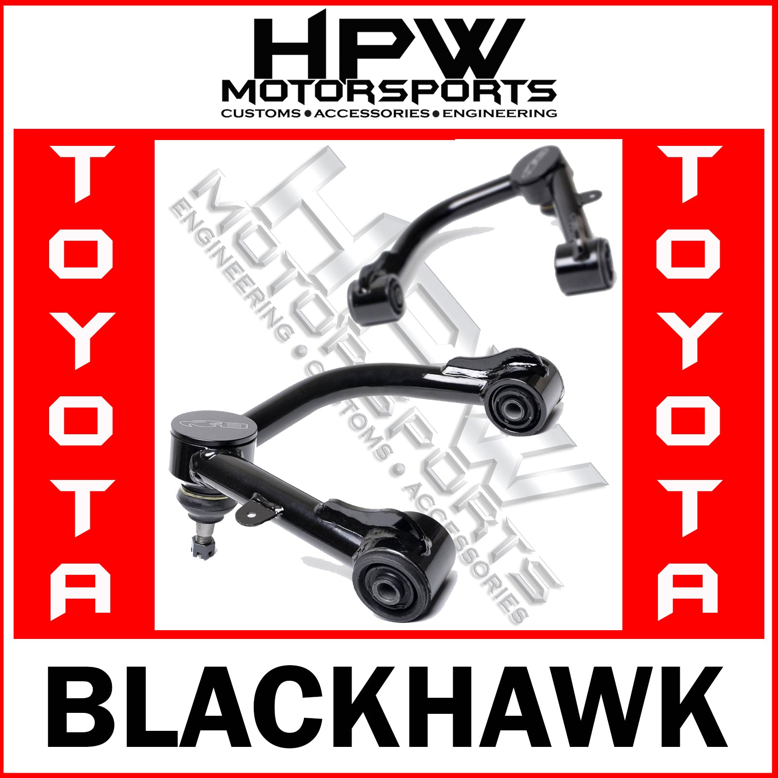 Blackhawk UCAS Upper control arms - FJ Cruiser 2009 onwards