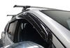 Smoke Black Weathershields to suit Nissan Navara NP300 D23