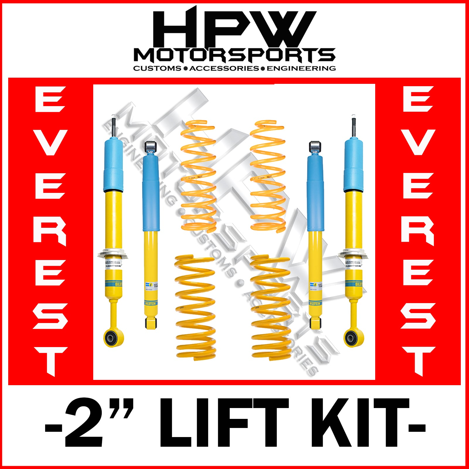"2"" BILSTEIN LIFT KIT for Ford Everest 2015 - 2017 UA"