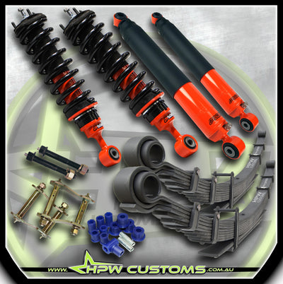"2"" Adjustable Bypass OUTBACK ARMOUR Lift kit for Ford Ranger PX3"