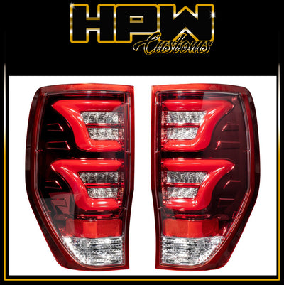 (RED) LED Tail Rear Light Lamp for Ford Ranger PX2 PX3 Ranger ADR