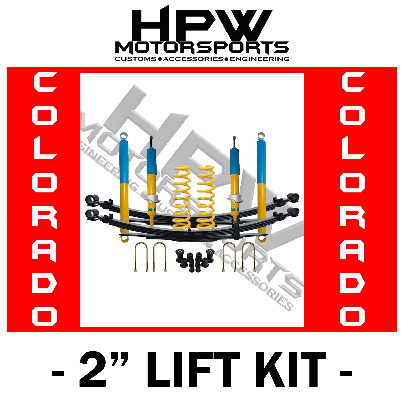 "2"" BILSTEIN Lift kit for Holden Colorado RG"