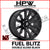 D675 FUEL BLITZ DOUBLE GLOSS BLACK  - Set of 4