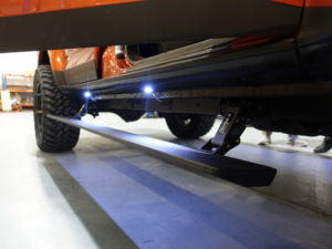 eBoard Retractable Power Steps to suit Toyota Fortuner