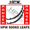 HPW Brand LEAF Springs PAIR - Ford Ranger PX1 & PX2 500kg LOAD
