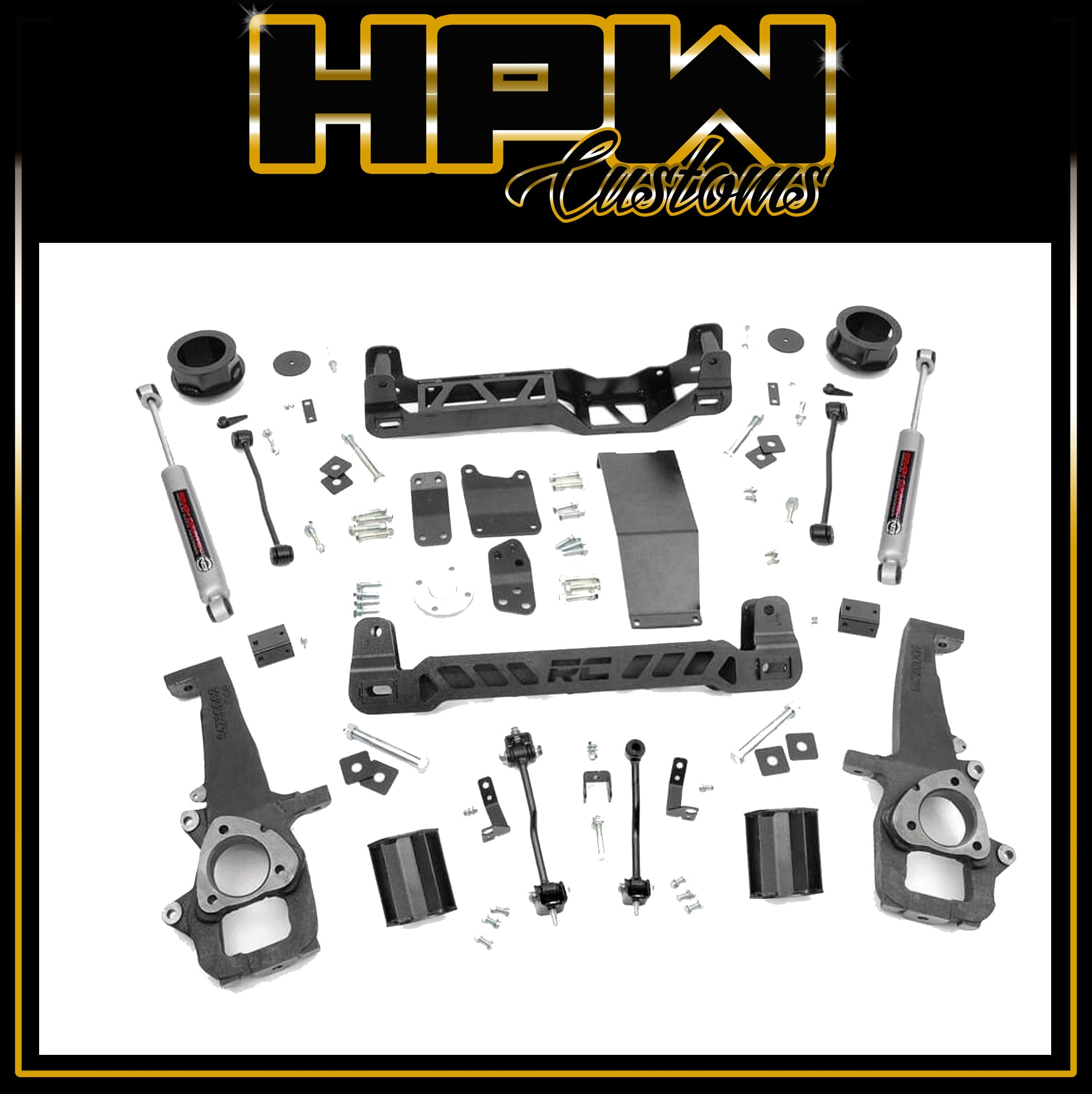 "6"" Lift ROUGH COUNTRY Lift kit for RAM 1500 LARAMIE & EXPRESS"