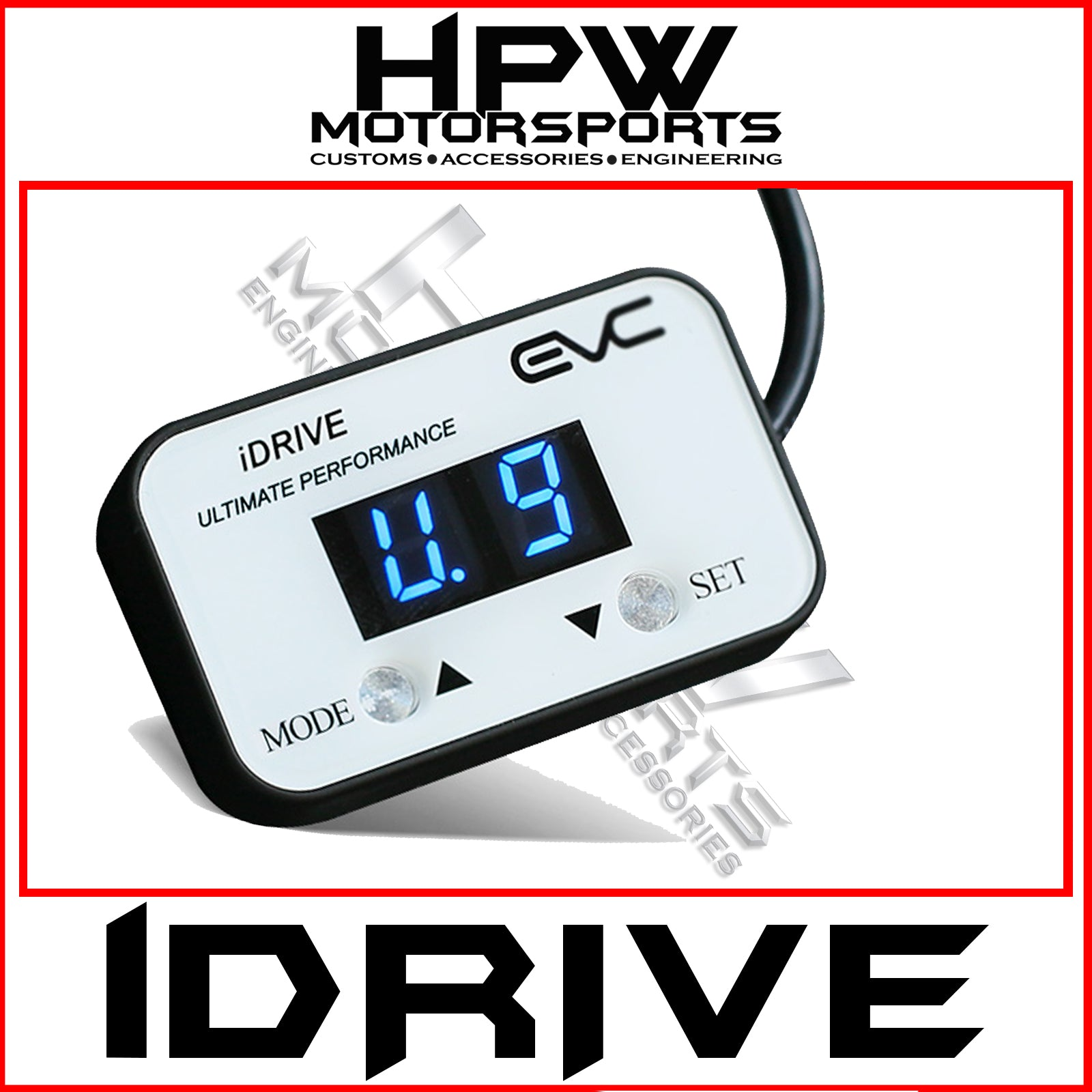 iDrive windbooster throttle controller - Unleash the power!