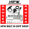 HPW Bolt in diff drop for Ford Ranger PX3