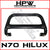 Nudge bar to suit Toyota Hilux N70 - Black powder coat