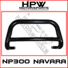 Nudge bar to suit Nissan Navara Np300 D23 - Black powder coat