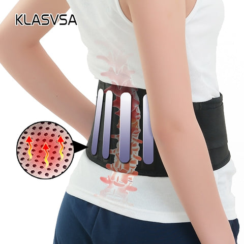 Magnetic Tourmaline Belt For The Back With Waist Ceinture Tourmaline Support Brace Massager