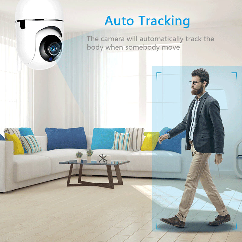 SecureEye™ 1080P 360 Wifi Camera
