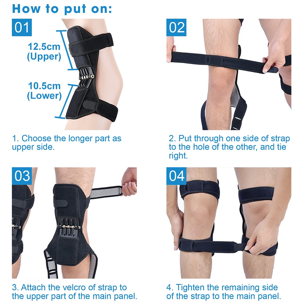 Power Spring Knee Pads