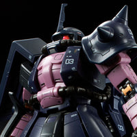 RG MS-06R-1A Black Tri-Star Zaku II High Mobility Type (1x MS) (Nov)