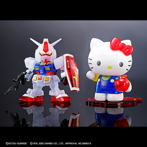 Hello Kitty / RX-78-2 Gundam [SD EX-Standard] [Clear Color]