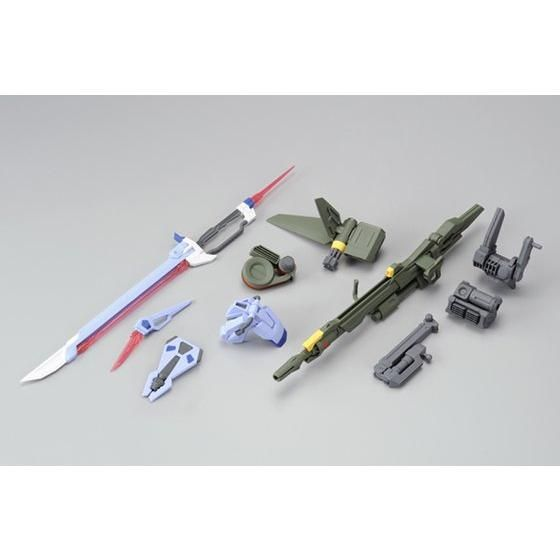 MG AQM/E-X03 Launcher Striker & X105+AQM/E-X02 Sword Striker Packs for Aile Strike Gundam (Dec)