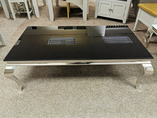 Glass Coffee Table/Black